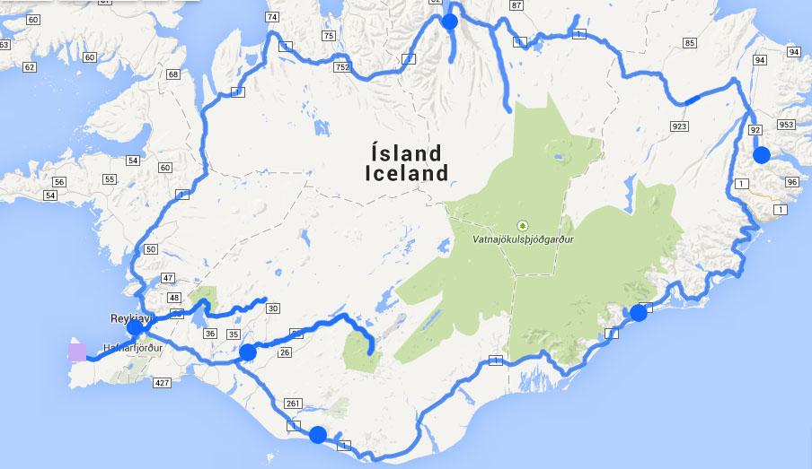 carnet voyage Islande