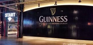 Visite du Guinness Storehouse à Dublin