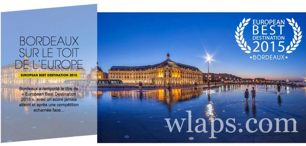 Bordeaux destination touristique 2015