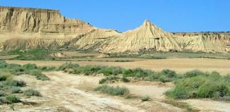 Bardenas Reales VTT désert