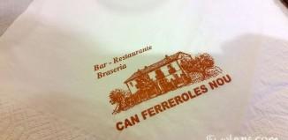 Restaurant Can Ferreroles Nou Castellbell i el Vilar