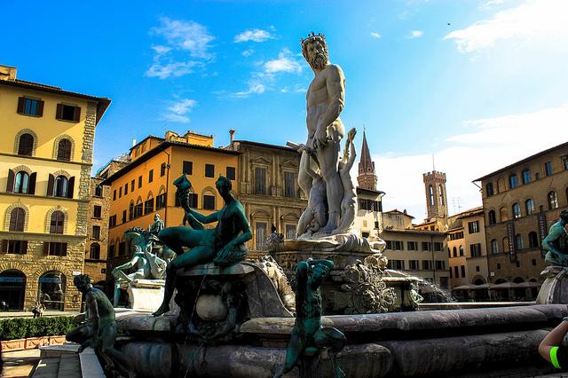 Fontaine de Neptune - piazza della Signoria