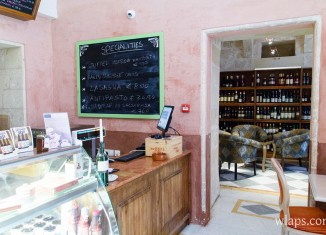 restaurant palazzo castelletti salumeria rabat