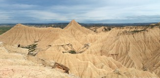 carnet voyage navarre espagne desert bardenas reales