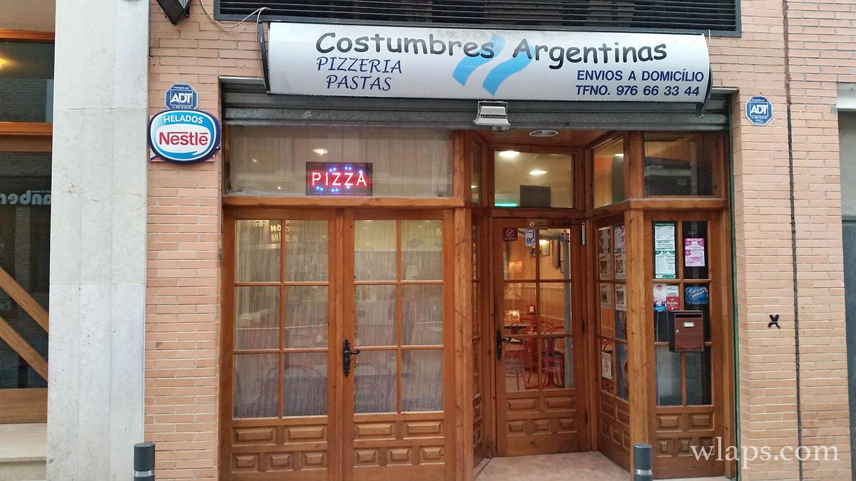 pizzeria-costumbres-argentinas-ejea-caballeros-espagne