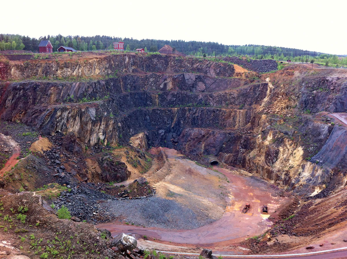 Falu Gruva_Copper mine- Falun_Suede