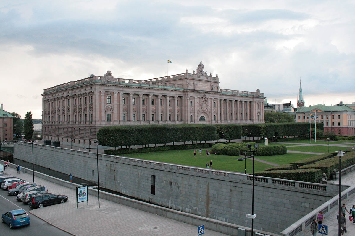 Parlement-Stockholm_Suede