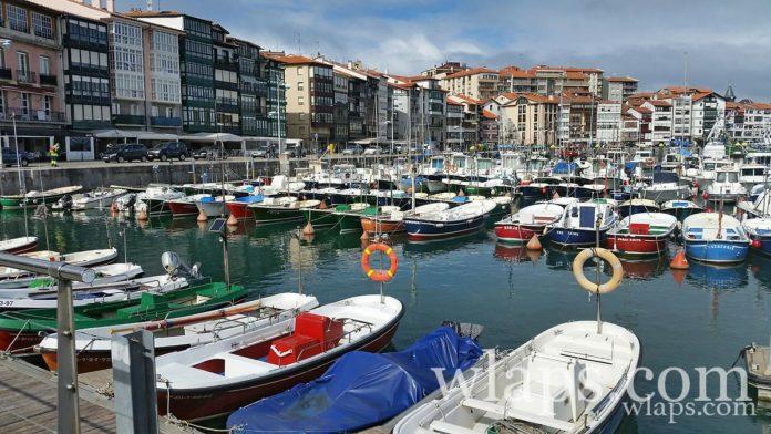 photo Lekeitio Espagne port plage ile