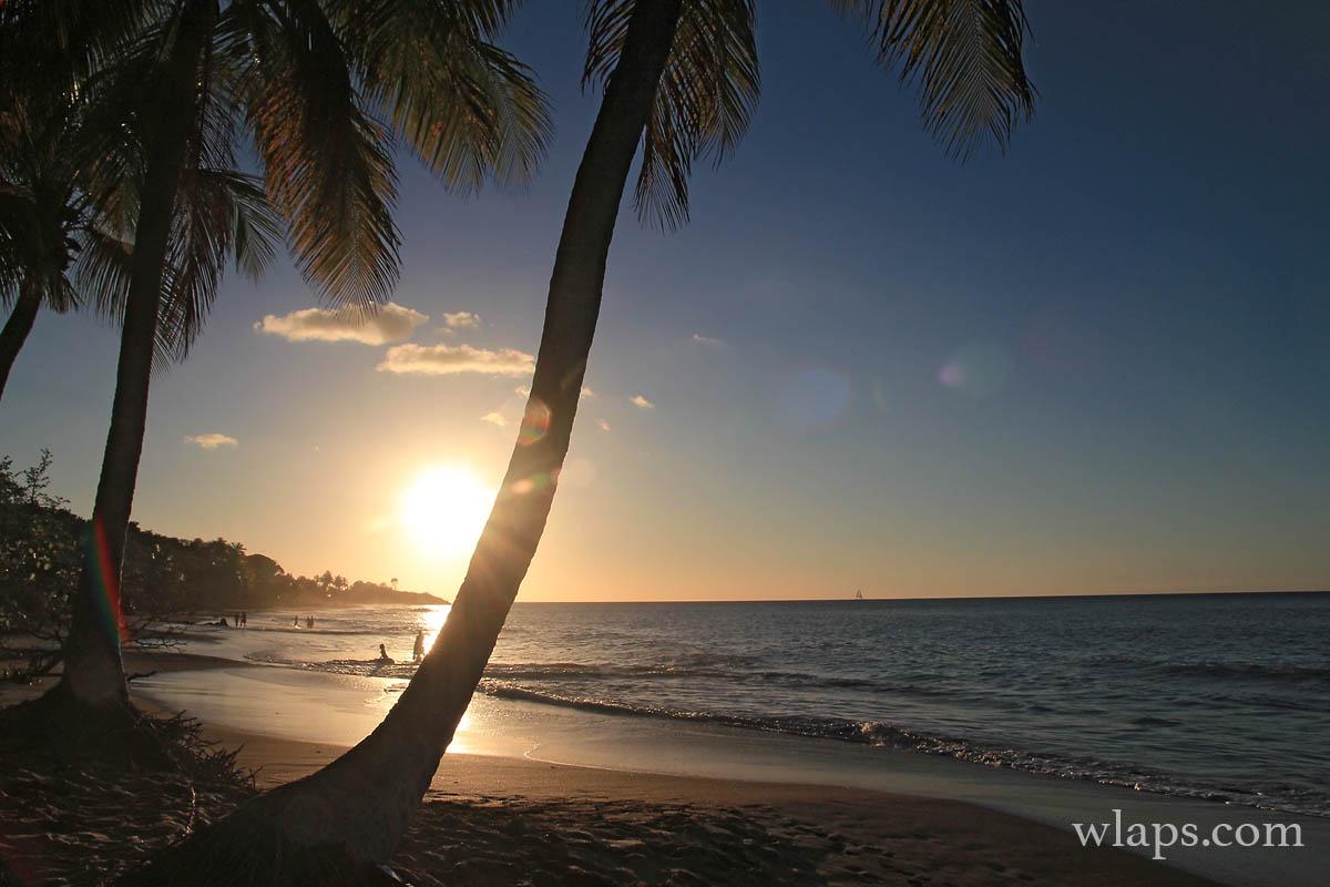 anse-plage-de-la-perle-coucher-de-soleil-guadeloupe