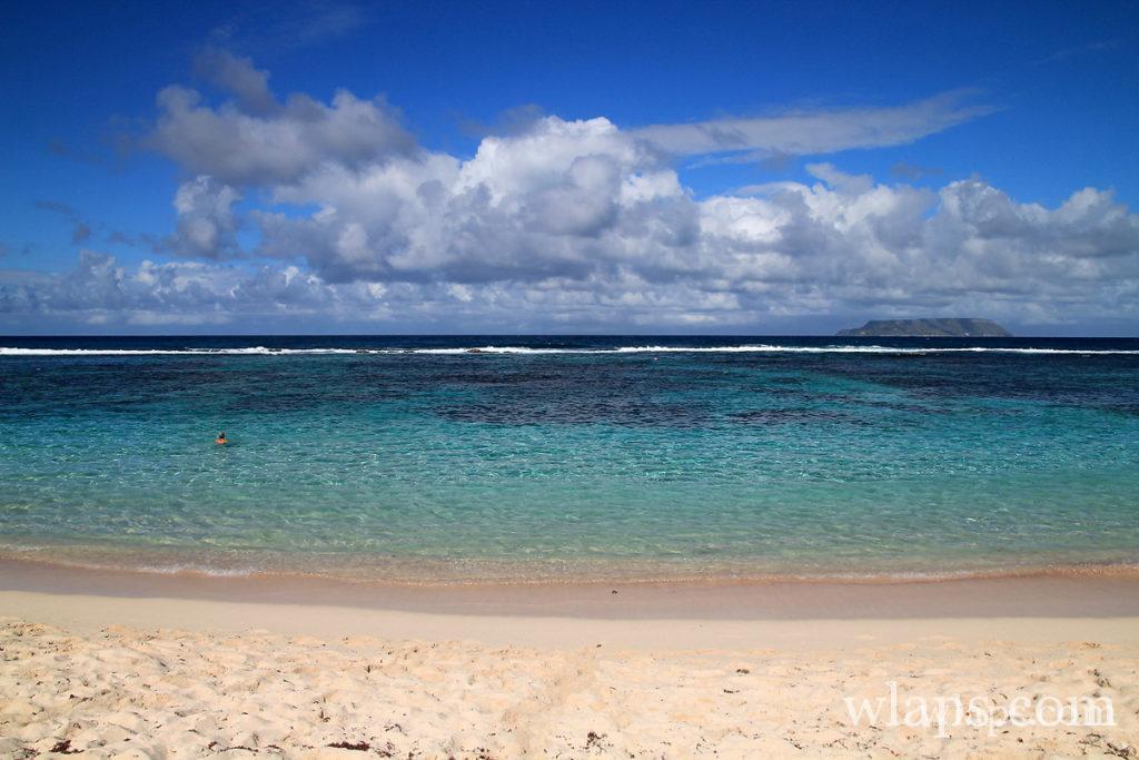 La plage naturiste des Salines en Guadeloupe