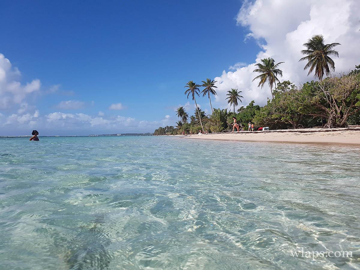 vue-mer-plage-bois-jolan-guadeloupe