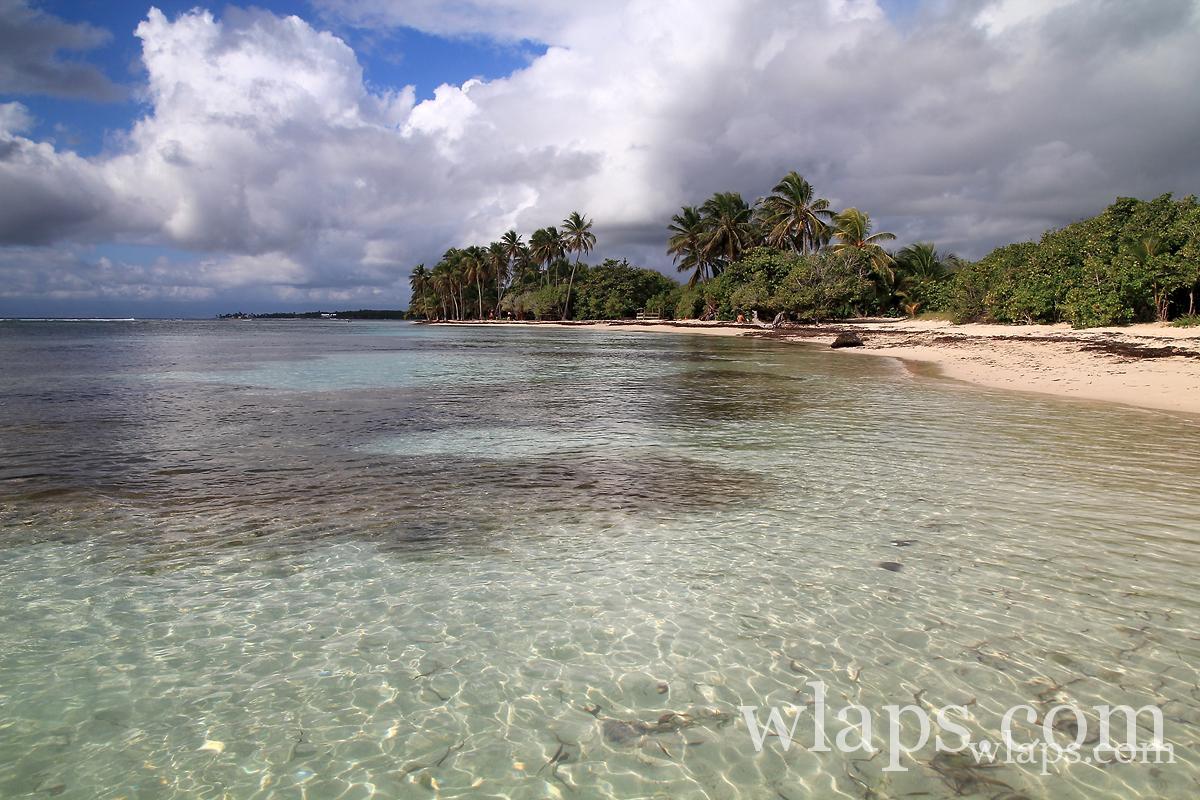 Les plus belles plages de Guadeloupe : La plage de Bois Jolan