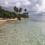 Belle plage de Bois Jolan sur Grande-Terre en Guadeloupe
