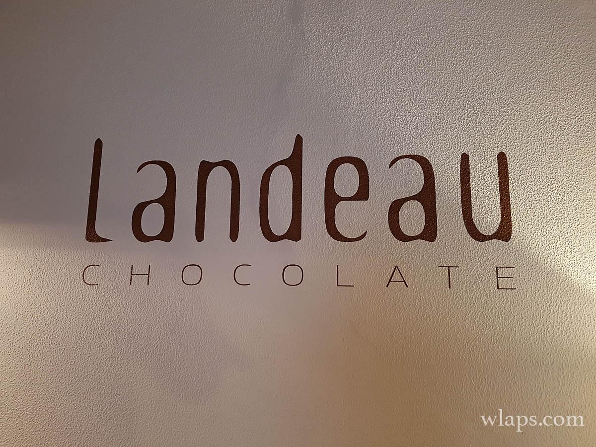 enseigne landeau chocolate