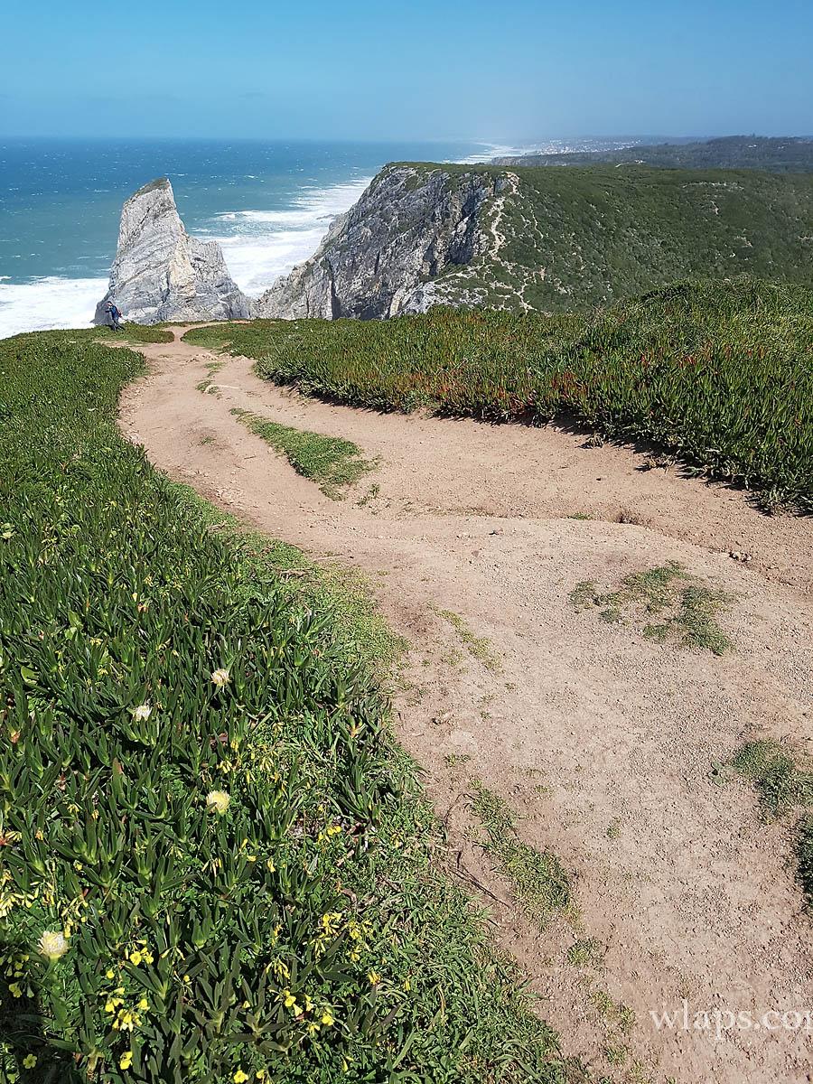 De là on est bien loin de Cabo da Roca