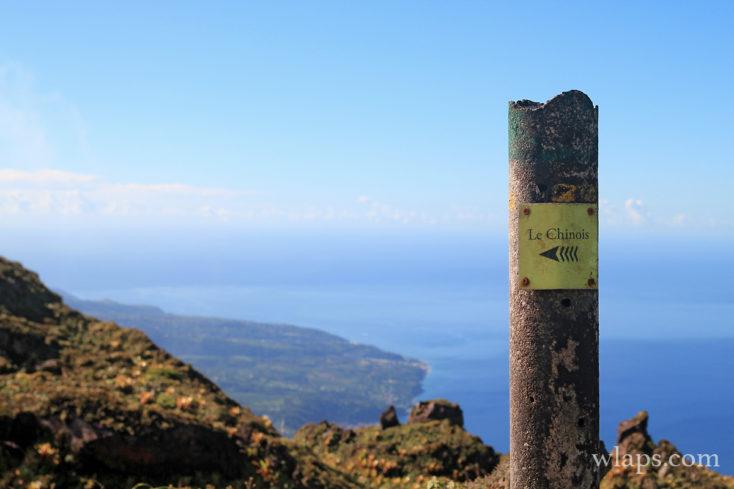 Au sommet de la Montagne Pelée