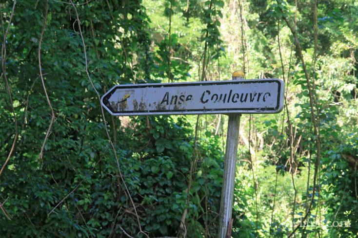 Panneau de l'Anse Couleuvre