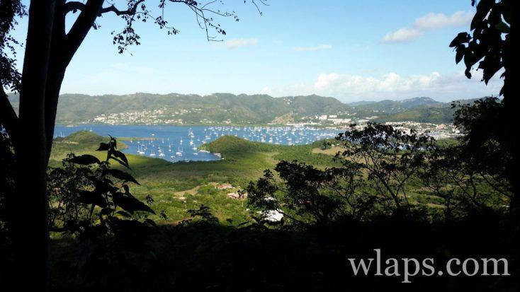 Vue depuis le piton creve coeur en Martinique