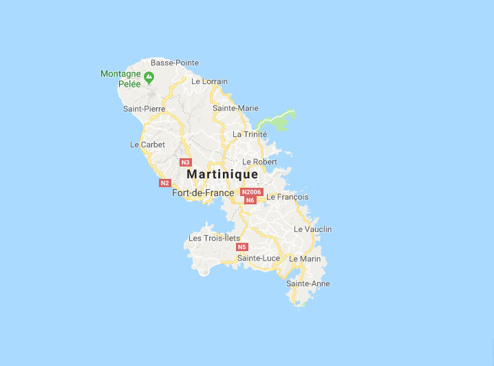 carte-maps-martinique-caraibes