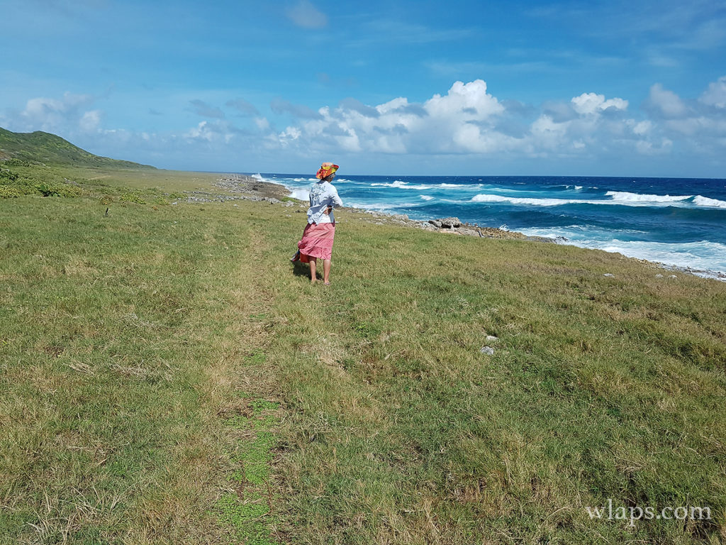 Découvrir Marie Galante en randonnée est une super activité pour tous