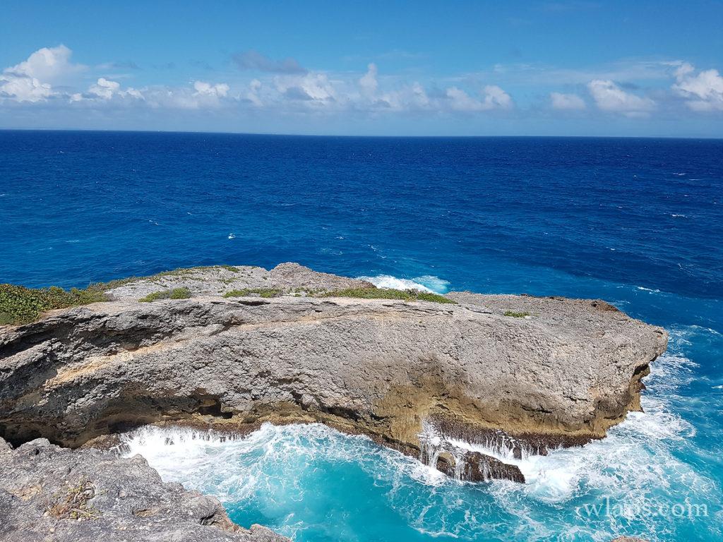 Vue sur Caye Plate, une belle découverte à Marie-Galante