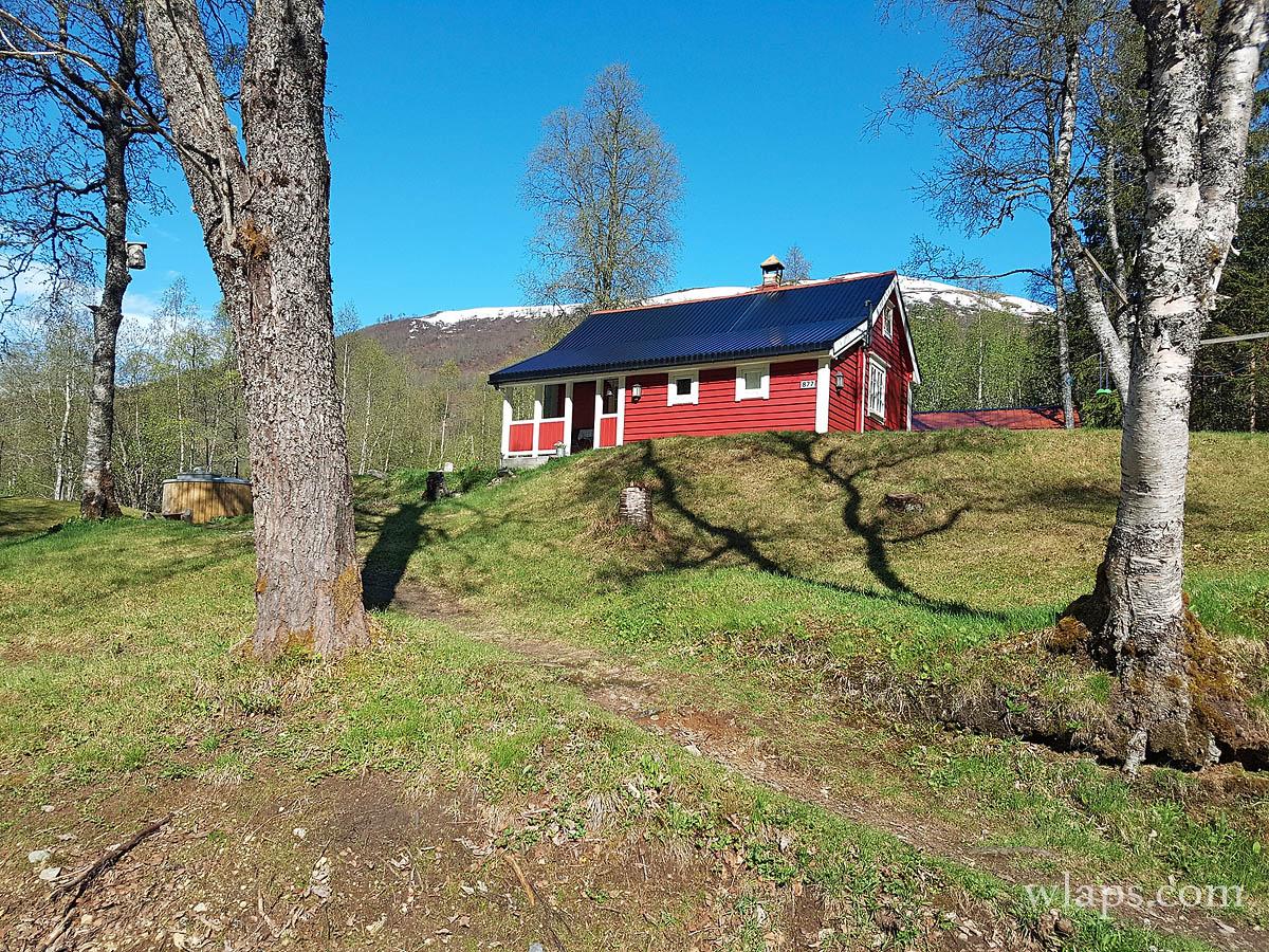 cabin-cabane-myrkdalen-norvege