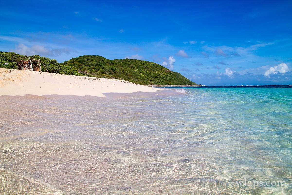 Les plages de Marie Galante décryptées : Anse Feuillard