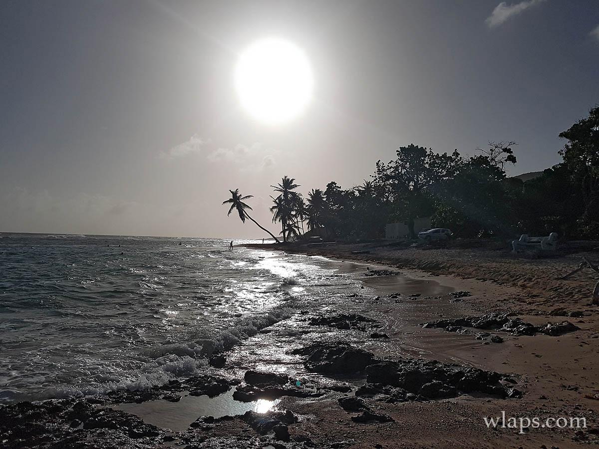 Coucher de soleil à Marie Galante