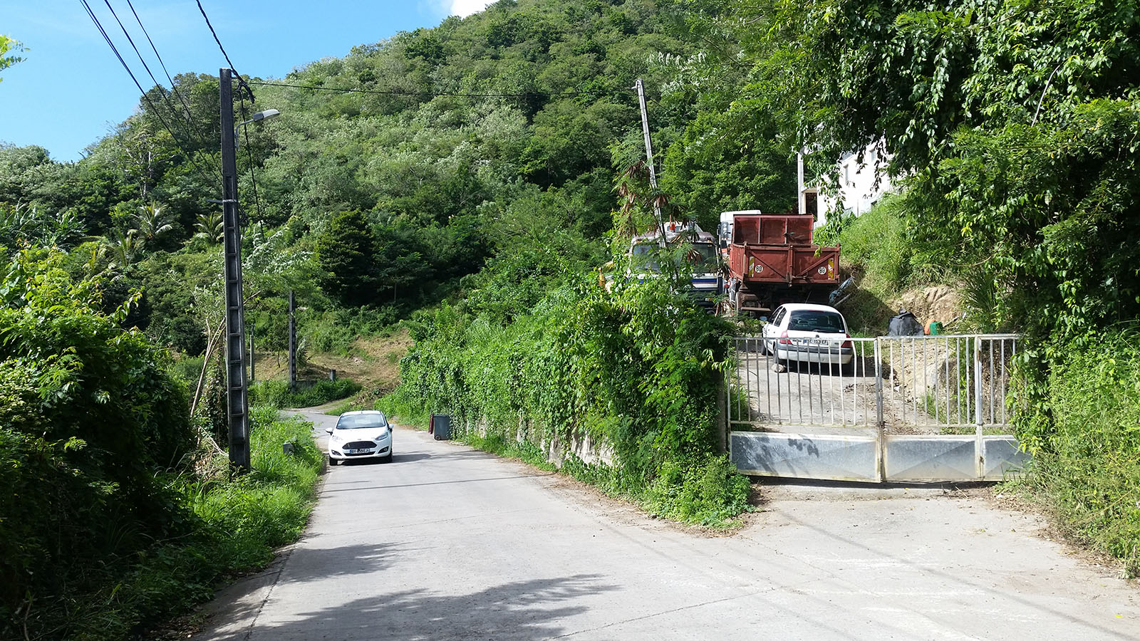 voiture de location à l'île de La Réunion