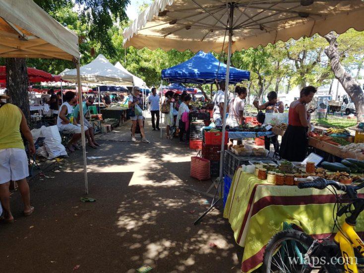 Marché de la ville du Port à La Réunion