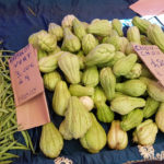 chouchou et fruits exotiques de l'ile de la réunion