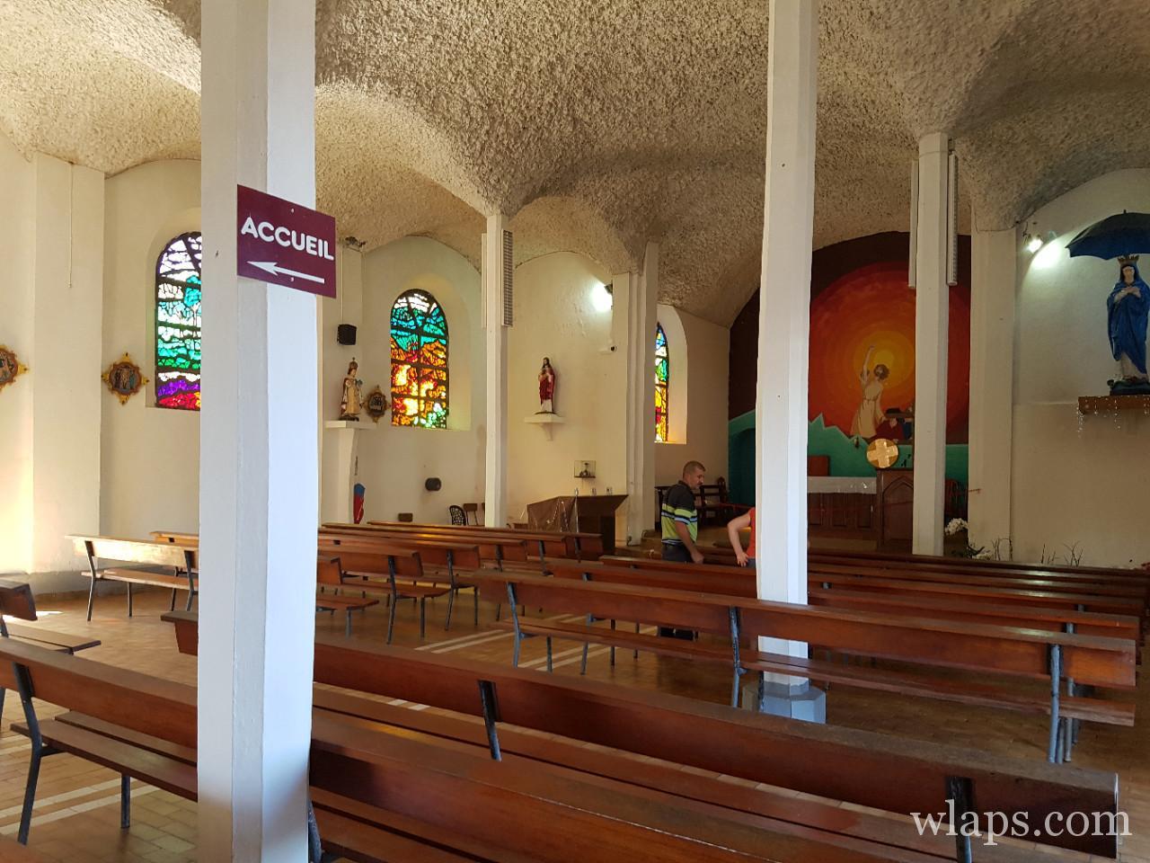 église Notre Dame des Laves à La Réunion