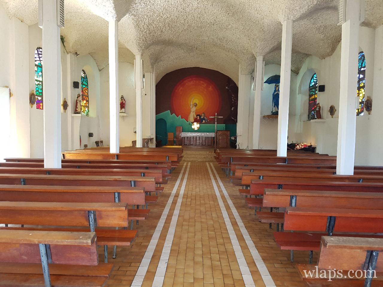 L'église Notre Dame des Laves à La Réunion