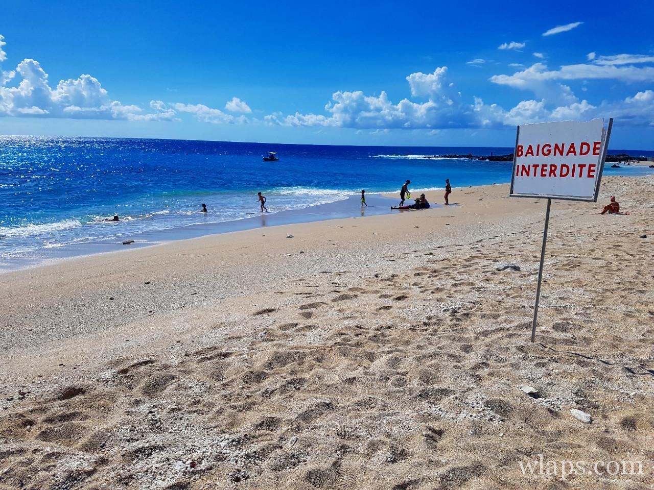 plage de Boucan Canot à l'ile de La Réunion