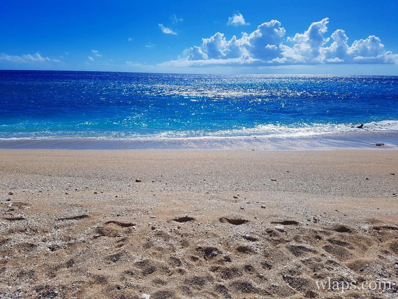 La plage de Boucan Canot à l'ile de La Réunion