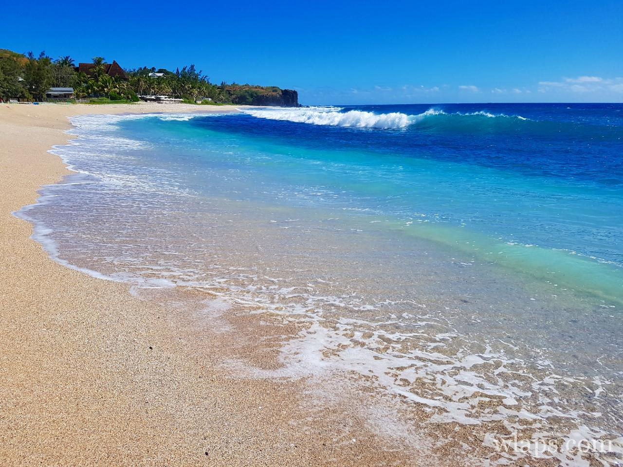 Une des plus belle plage de La Réunion