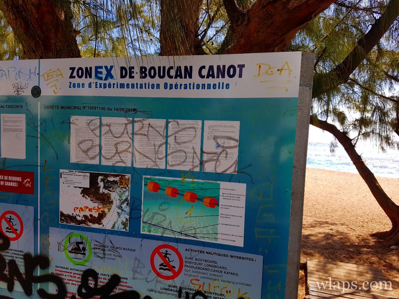 Baignade à la plage de Boucan Canot à La Réunion