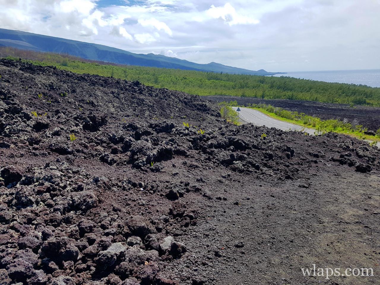 Grand Brulé à l'ile de La Réunion