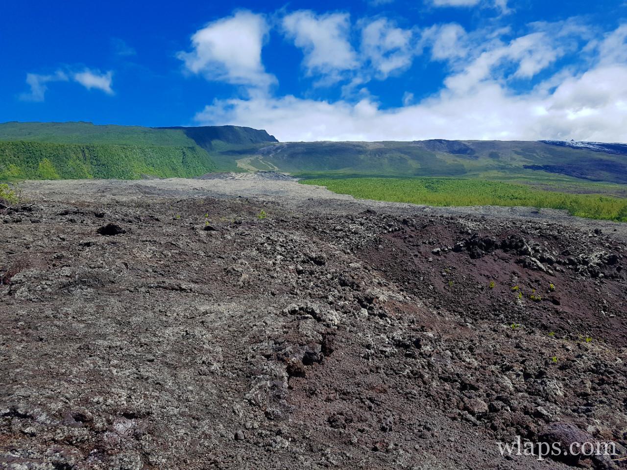La coulée de Grand Brulé à La Réunion