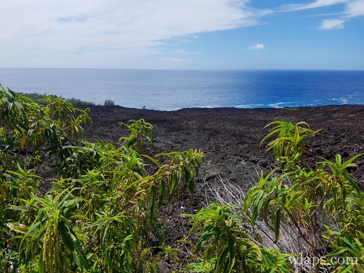 Le site de Grand Brulé à La Réunion