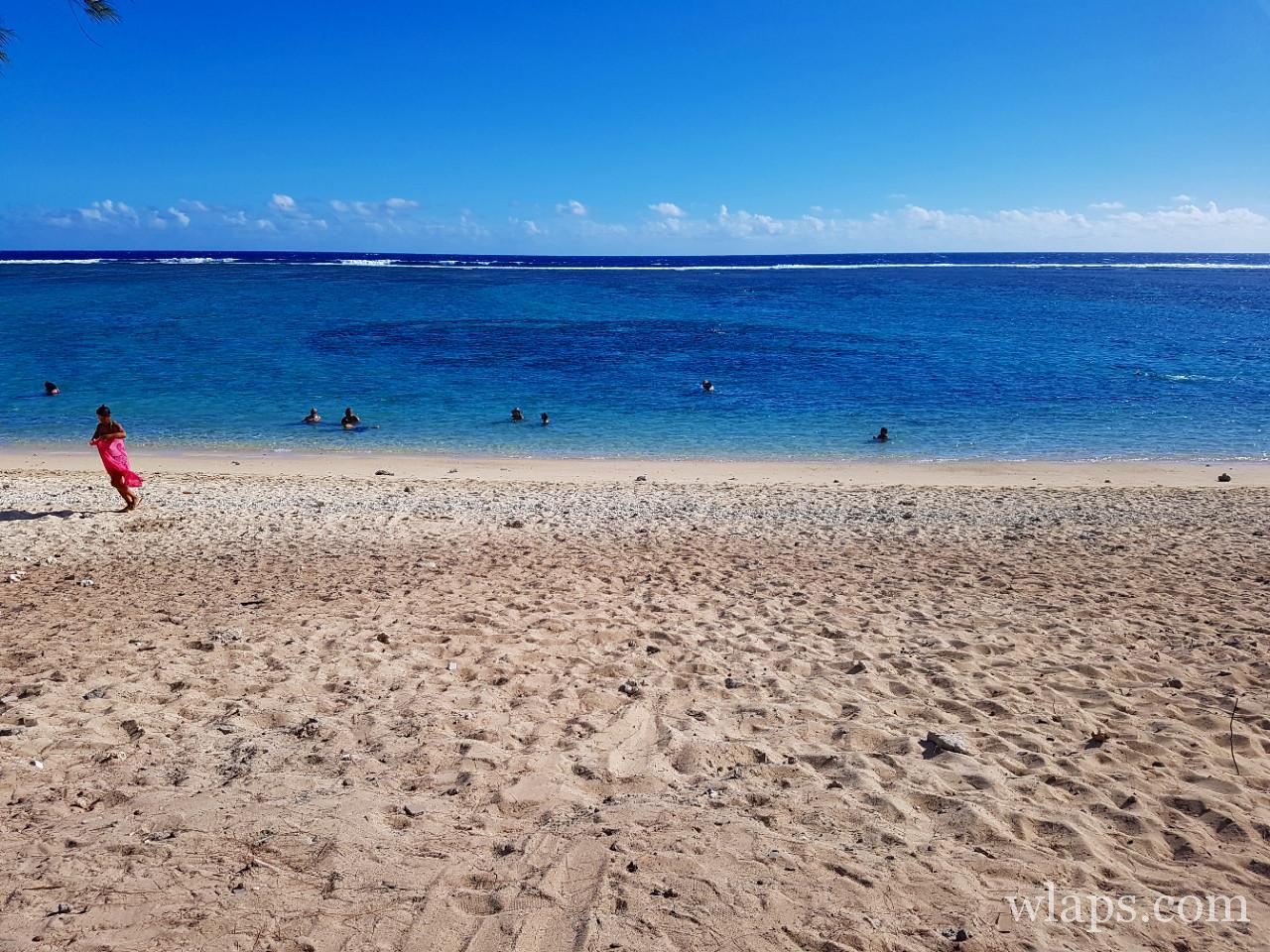 La plus belle plage de La Réunion