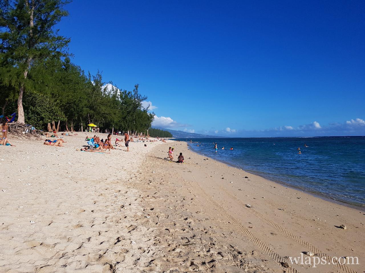 La plus belle plage de La Réunion c'est la plage de l'Hermitage