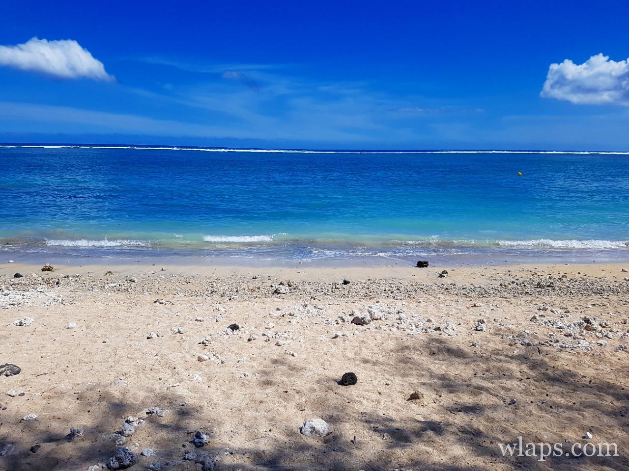 La Plage de Trou d'Eau à La Réunion