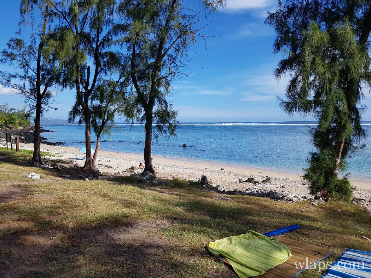 Plage pour faire du snorkeling à La Réunion : la plage de Trou d'Eau