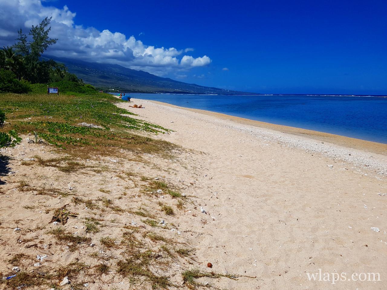 Plage de la Saline les Bains à l'ile de La Réunion