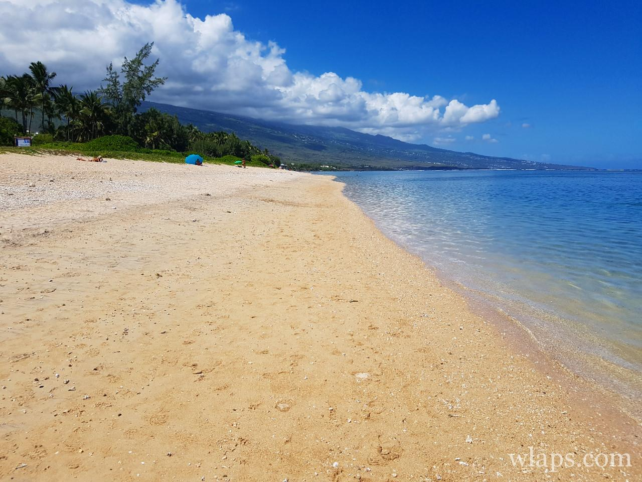 Belle plage de la Saline les Bains à l'ile de La Réunion
