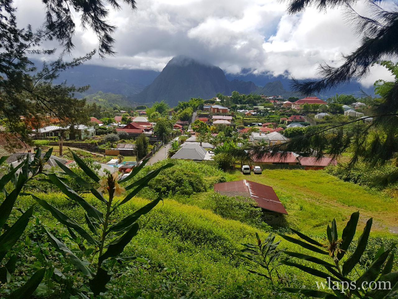 Le cirque de salazie et hell bourg à La Réunion