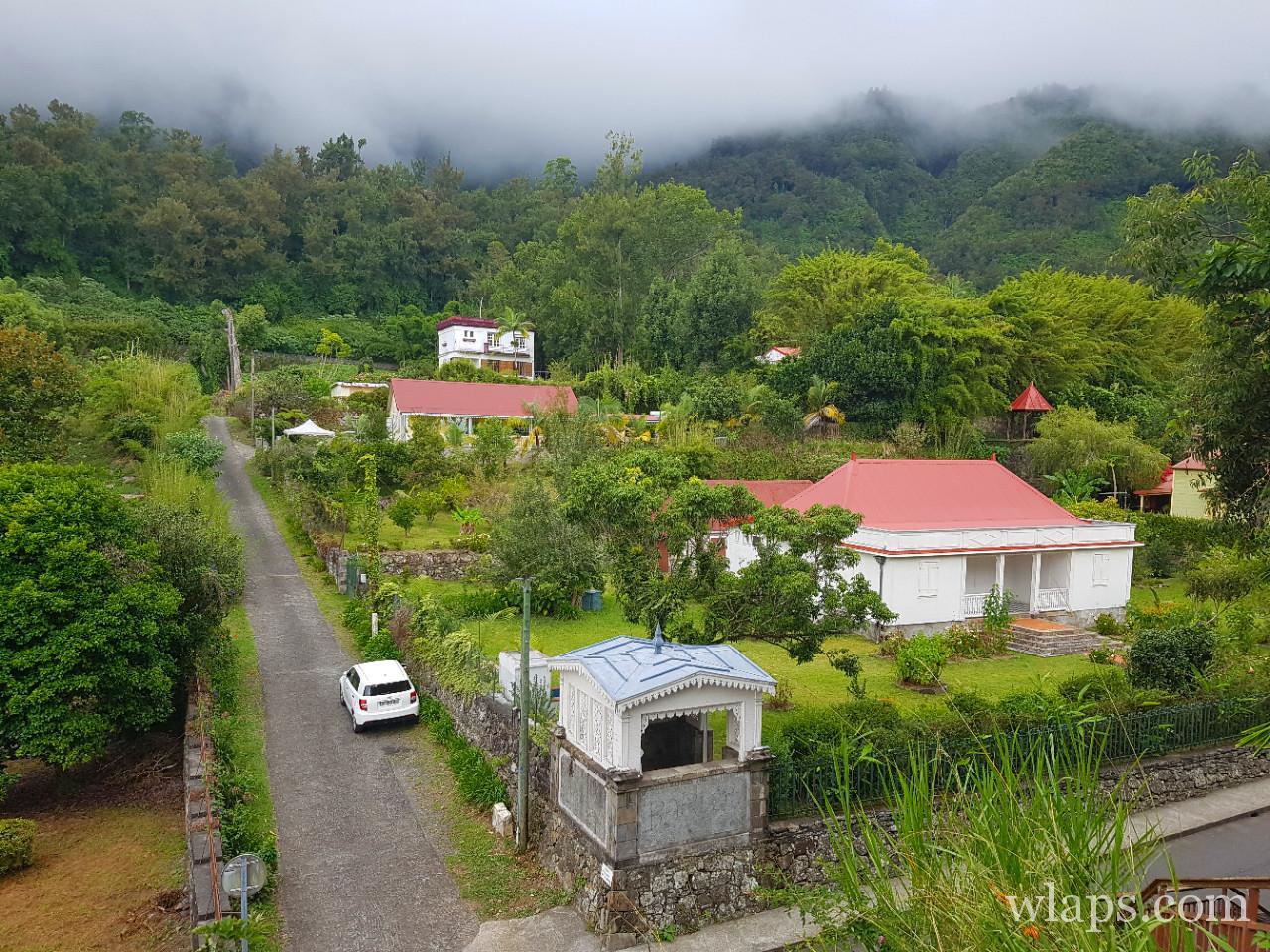 le village de hell bourg à La Réunion