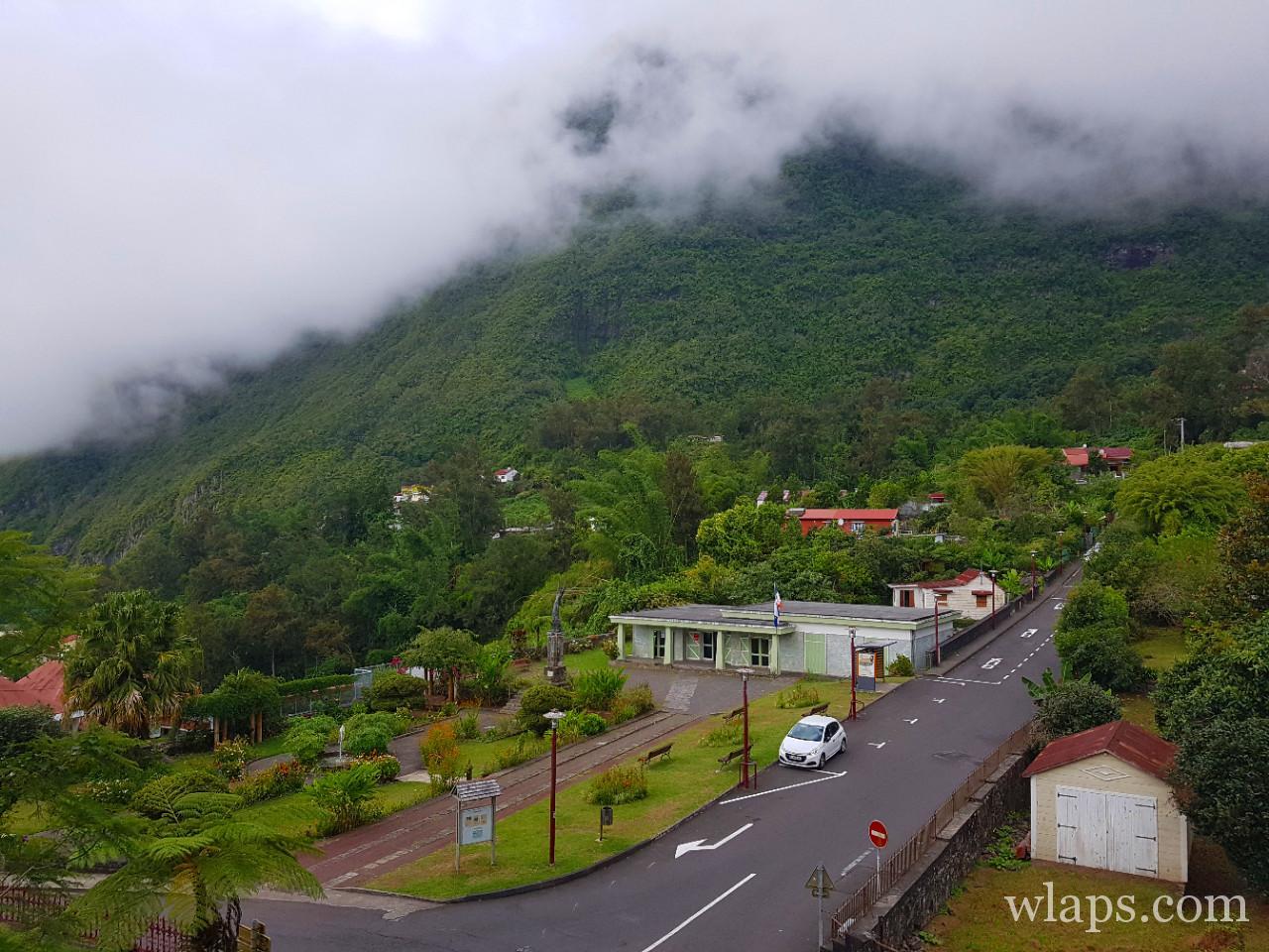 village de hell bourg à La Réunion