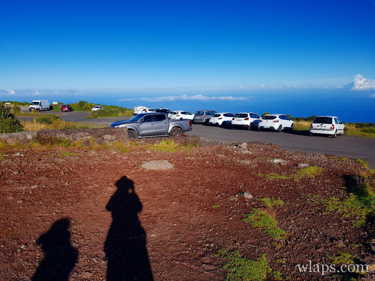 Parking du Maido à l'île de La Réunion